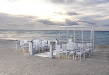 Pure destination wedding