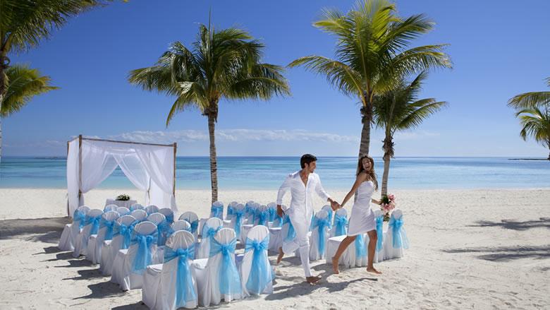 Barcelo Maya Palace Deluxe Riviera Beach Wedding