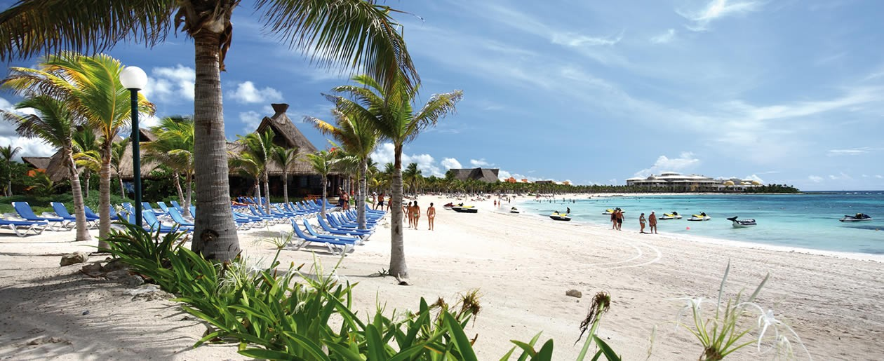 Exchange your wedding vows on one of the best beaches in the world at the Barceló Riviera Maya All Inclusive Resorts.
