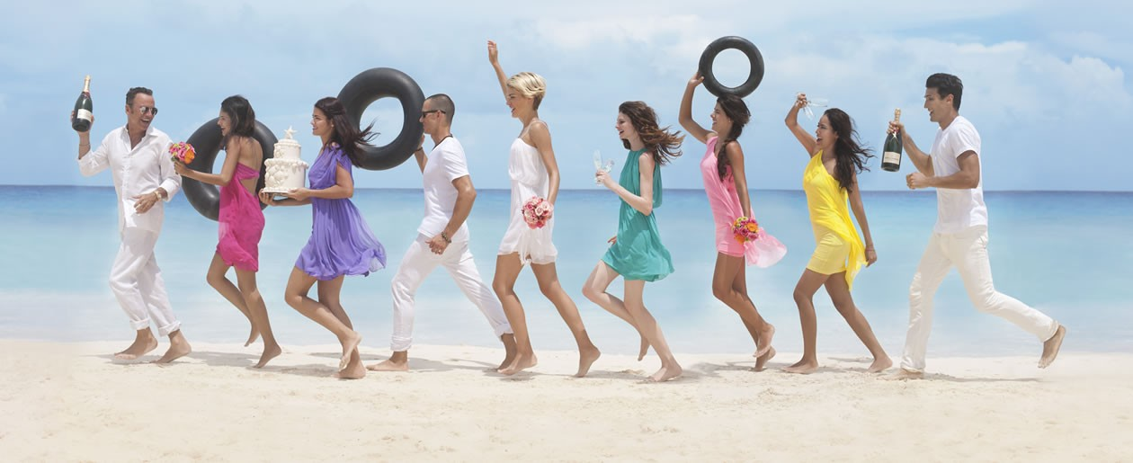 Introducing The Colin Cowie Wedding Collections at the all-inclusive Hard Rock Hotels in Mexico.