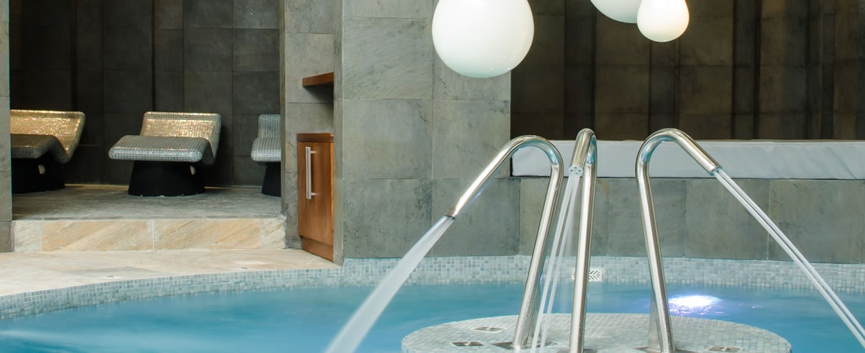 Spoil each other during your honeymoon with hydrotherapy spa treatments.