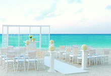 Elegant Ivory destination wedding