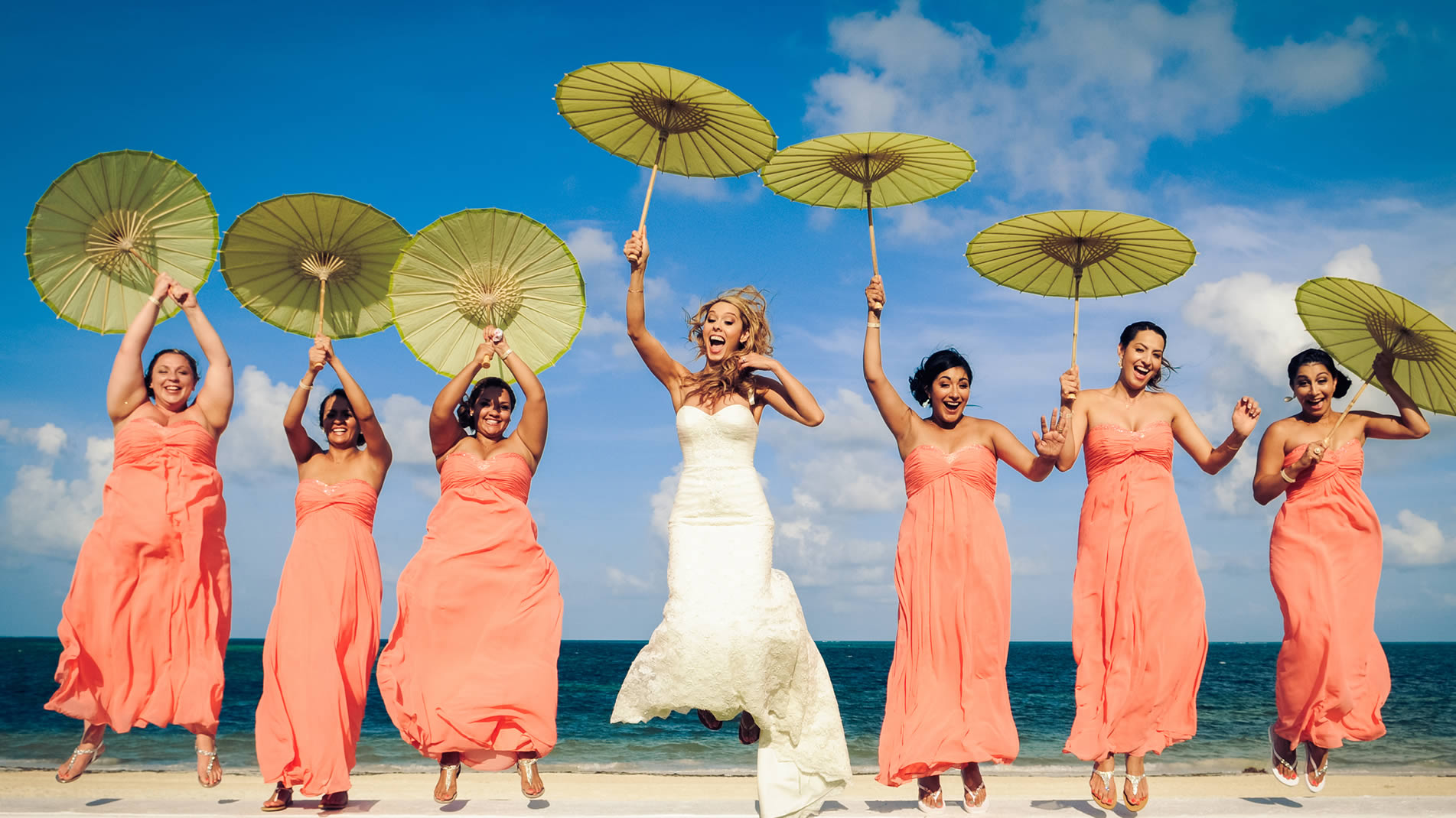 Wedding group incentives when booking a group with Palace Resorts - Receive up to $14,000 in complimentary benefits.