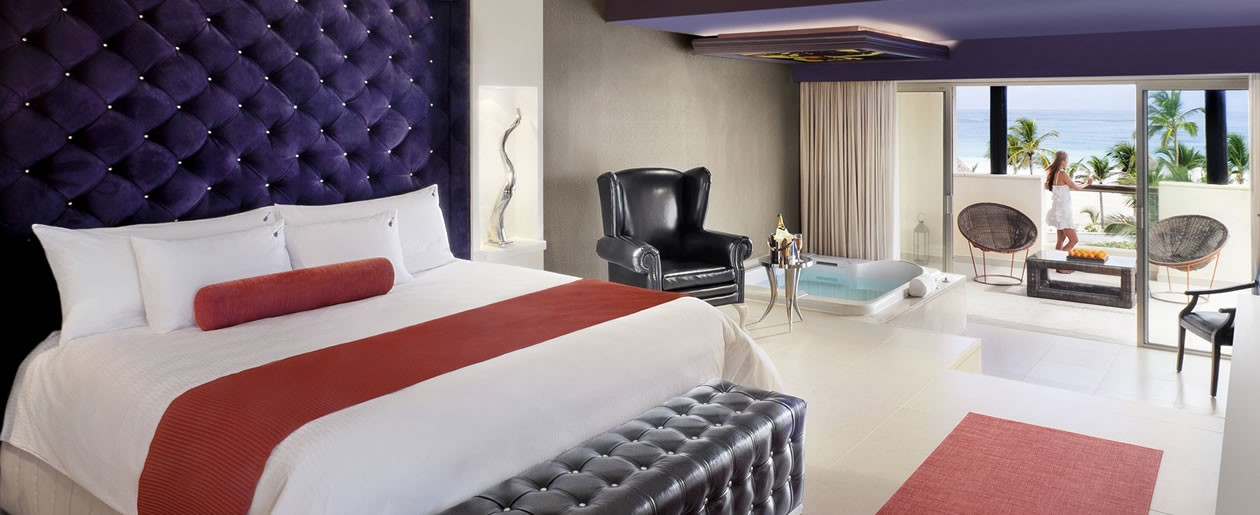Luxurious, unapologetic room experience to fit even the most discriminating tastes.