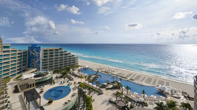 Hard Rock Hotel Cancun family friendly all inclusive wedding hotel