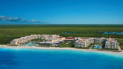 Now Jade Riviera Cancun beach wedding resort for families